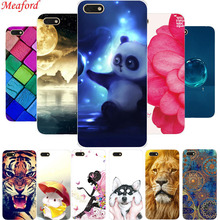 Honor 7A Case For Huawei 5.45 DUA-L22 Russia Soft TPU Back Cover a7 7 a Silicone Floral