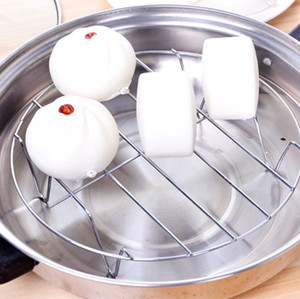 8 Inch Cooking Rack Round 304 Stainless Steel Baking and Cooling Steaming Rack