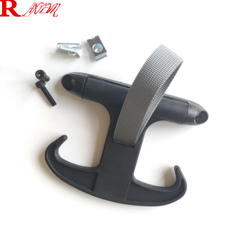 car styling Rear Lid Horn Hook For Volkswagen VW Tiguan Jetta Bora MK4 K5 MK6 CC Passat B6 B7L For Skoda Octavia Car Accessories atreus 30cmx127cm carbon fiber car styling stickers for vw polo passat b7 b8 golf 7 5 6 mk4 touran bora t4 skoda octavia a5 a7 2