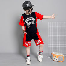 2019 Toddler Boy Clothes Sets Kids Sport Suits Summer Casual Kids Clothing Set For Teens 2piece Children Clothing Sets Kids(China)