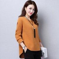 2018 New Winter Coat Jacket Korean Short Shirt Sleeve Head Loose Sweater Female Tide