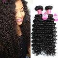 Boa Qualidade da Malásia Cabelo Onda Profunda Extensões de cabelo virgem Malaio Onda Profunda Aliexpress Atacado Feixes de Cabelo Malaio
