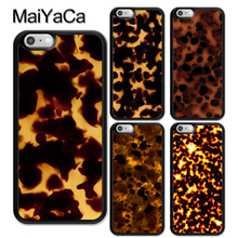 MaiYaCa Tortoise Shell Marble Pattern Rubber Phone Case For iPhone 6 6S 7 8 Plus 5 5S SE X XR XS MAX Coque Funda Cover Shell цена и фото