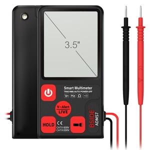 Image 2 - BSIDE ADMS7 Bút Thử Điện Áp 3.5 Màn Hình Lớn LCD Kỹ Thuật Số Thông Minh Đồng Hồ Đo Vạn Năng 3 Dòng Hiển Thị TRMS 6000 Tính DMM Với analog Bargraph