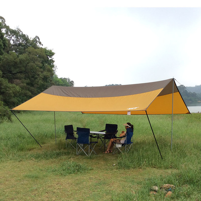 Free shipping Outdoor awningultralarge sun-shading beach tentshade-shed c&ing & Free shipping Outdoor awningultralarge sun shading beach tent ...