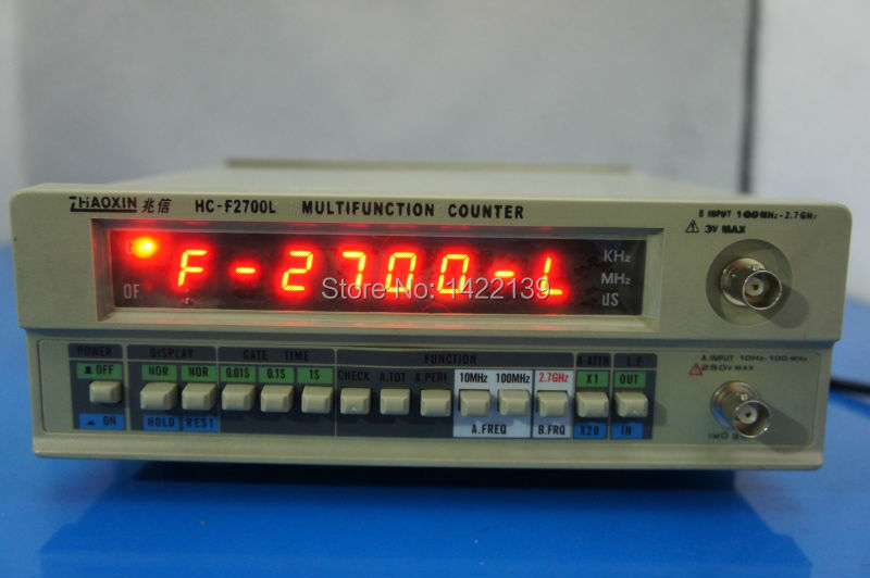 HC-F2700L Frequency Counter 10hz to 2700Mhz 2.7G цена