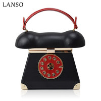 LANSO Vintage Unique Phone Styling PC Handbags Ladies Evening Bags Casual Totes Women S Party Wedding