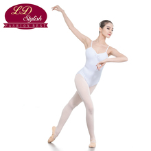 Adult White Dance Skirt Training Leotards Stage Performance Competition Female Dancewear for Girls Swimming Practice Clothing