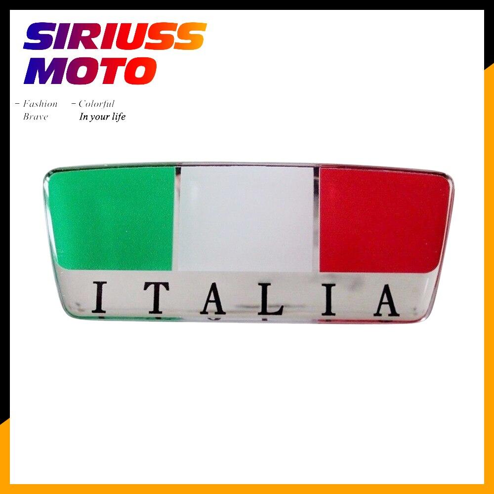 3d Italien Aufkleber Motorrad Tank Decals Windschutzscheibe Italia Aufkleber Fall Für Aprilia Ducati Vespa Gts Gtv Für Agv Helm
