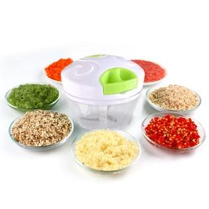 Manual Vegetable Fruit Garlic Chopper Hand Pull Food Crusher Blender Onion Nut Grinder Kitchen Food Processor Mincer Shredder B4