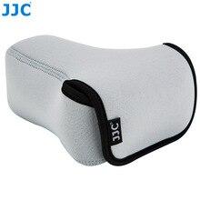 JJC ראי מצלמה פאוץ רך DSLR Case תיק עבור Sony A6600 A6100 A6300 A6400 A6500 Fujifilm XT30 XT20 XT10 + 55 210mm עדשה