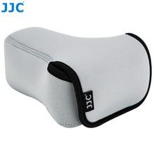 JJC caméra sans miroir pochette souple DSLR sac pour Sony A6600 A6100 A6300 A6400 A6500 Fujifilm XT30 XT20 XT10 + 55 210mm objectif