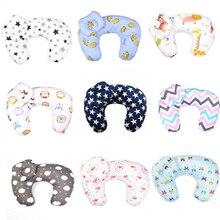 Детские подушки для кормления, подушка для грудного вскармливания, u-образная подушка из хлопка для новорожденных, Подушка для кормления, детская кровать