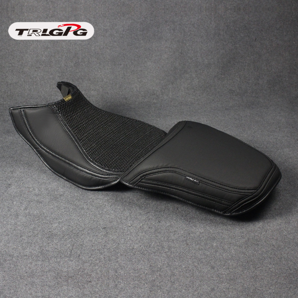 For Benelli TRK502 TRK 502 502X Motorcycle Rubber Striped Soft-Grip Gripper Soft Seat Cover