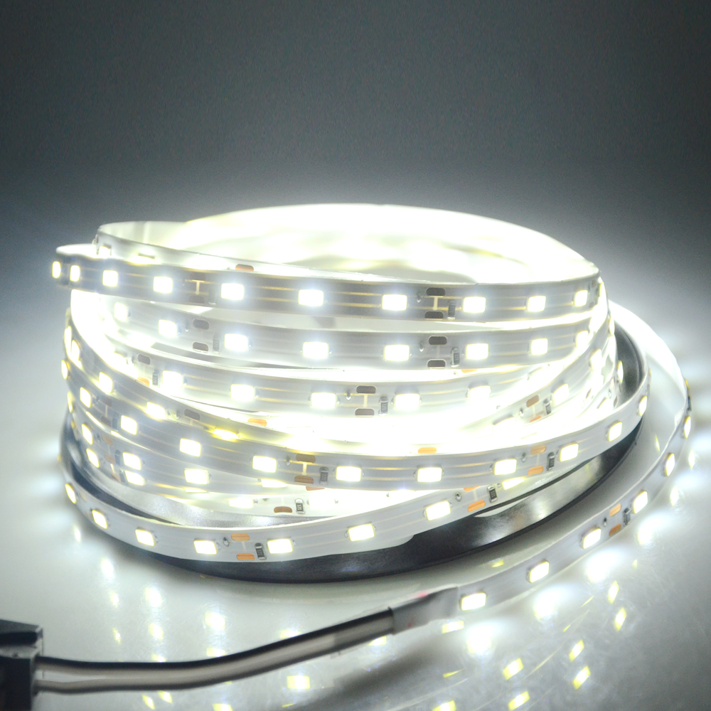 Led Strips Earnest Foxanon Led Strip 5630 Dc12v 5m 300led Lamp Flexible 5730 Bar Light Super Brightness Non-waterproof Indoor Home Decoration Led Lighting