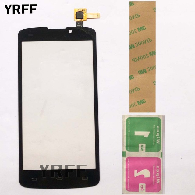 Touch Screen For Philips Xenium V387 V 387 Touch Glass Sensor Digitizer Panel Lens Sensor 5.0 Mobile Phone Adhesive Wipes
