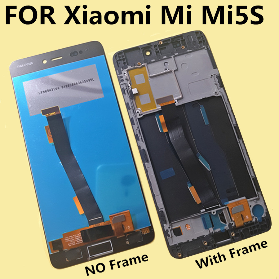 tested 5 15 LCD For Xiaomi Mi5s MI 5S LCD Display Touch Screen Digitizer Assembly Replacement