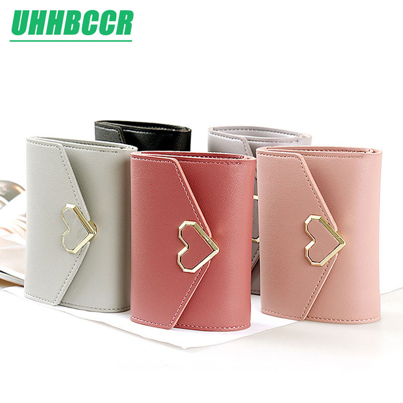 UHHBCCR Leather Small Women Wallet Luxury Brand Famous Mini Womens Wallets And Purses Short Female Coin Purse Credit Card HolderUHHBCCR Leather Small Women Wallet Luxury Brand Famous Mini Womens Wallets And Purses Short Female Coin Purse Credit Card Holder