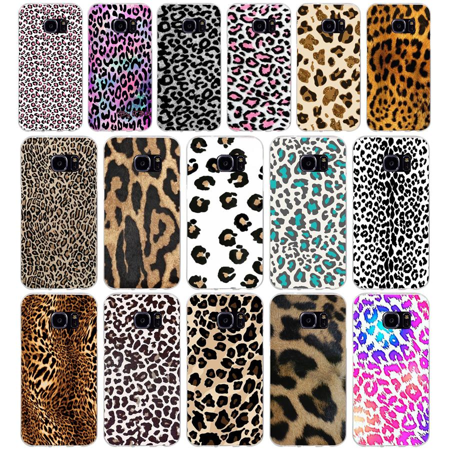 260 H Mode Tiger Leopard Print Panther Weiche TPU Silikon Abdeckung Fall für <font><b>samsung</b></font> <font><b>Galaxy</b></font> s6 s6 <font><b>s7</b></font> rand s8 s9 plus fall image