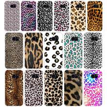 260H Fashion Tiger Leopard Print Panther Soft TPU Silicone Cover Case for samsung Galaxy s6 s6 s7 edge s8 s9 plus case(China)