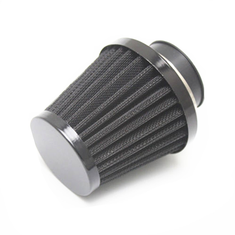 35mm 38mm 40mm 42mm 48mm 50mm 52mm 54mm 60mm Black Motorcycle Air Filter Clamp-on Air Filter Cleaner ATV Quad For Honda Yamaha image