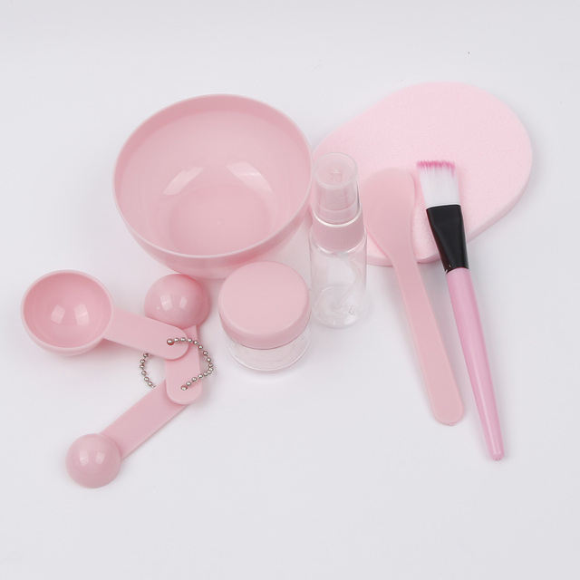 9в1 микс для лица шпатель палка Измерительный набор ложек инструмент для макияжа косметическая маска чаша щетка для женщин