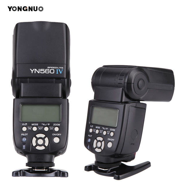 2018 New YONGNUO YN560 IV yn560iv YN-560IV Speedlite 2.4G Wireless Master&Group Flash Speedlite For Canon Nikon Panasonic Pentax