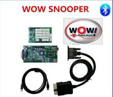 5 pc/lot New WoW SNOOPER tcs cdp pro V5.008 software cars trucks working better than tcs cdp By Fast Free Shipping(China)