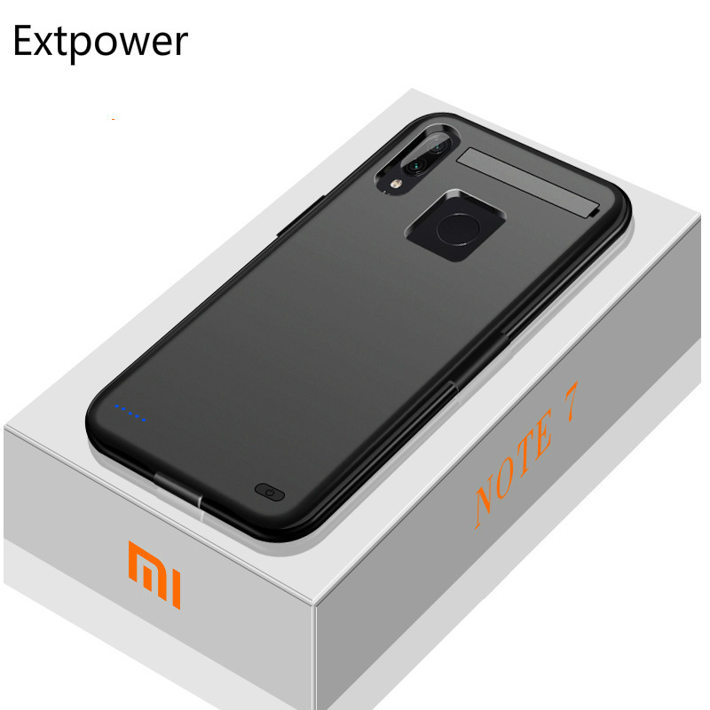 Extpower 6800mAh battery Charger Case For Xiaomi Redmi Note7 External Portable Battery Charging Cover For Xiaomi Redmi Note7 Pro|Battery Charger Cases| |  - title=