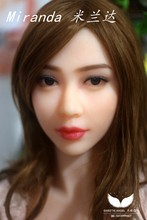 WMdoll Custom-made ORAL sex doll HEAD only head sex toy For Man Miranda