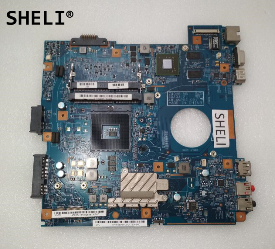 цена на SHELI For Sony VPC-EG MBX-250 Motherboard with N12M-GS2-S-A1 48.4MP06.021 A18296588
