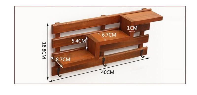 Cutii din lemn de mana Cargo Organizator Carcasa de depozitare Simplu - Organizarea și depozitarea în casă - Fotografie 5