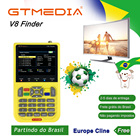 Freesat V8 Finder digital satellite Finder HD DVB-S2 1080P High Definition 3.5 LCD Satellite Finder MPEG-2 MPEG-4 Freesat