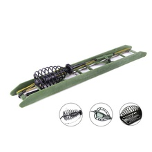 Fishing Bait Cage Feeder With Lead Sinker Lure for Carp Hooks TX005