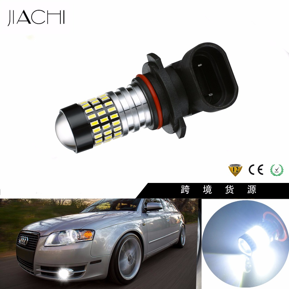 JIACHI 100PCS Lot H11 H8 H16 JP 9005 9006 H10 H7 LED Fog Lamp Auto lights
