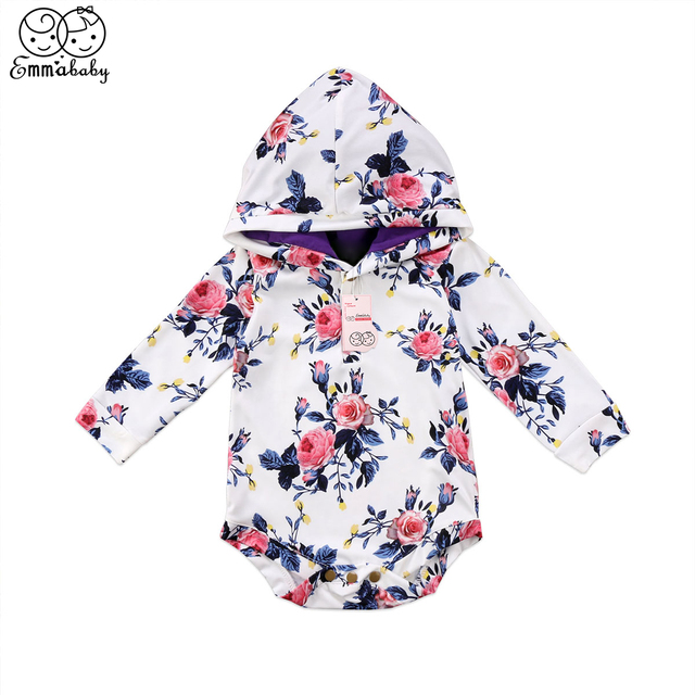 0b8ec06f6e6a Baby Girl Long Sleeve Romper Kids Girls Hooded Romper New Year s Costumes  For Girls 2018 New Bebes Jumpsuit Baby Girl Clothing