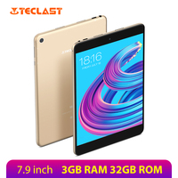 Teclast M89 Pro 2048*1536 IPS 7.9 Inch Tablet Android 7.1 3GB RAM 32GB ROM MTK Helio X27 Deca Core Tablets PC Dual WiFi Type C