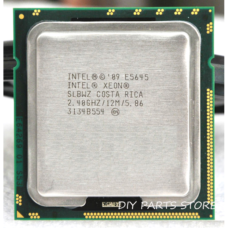 INTEL XEON <font><b>E5645</b></font> Six-Core 2.4 GHz LeveL2 12M WORK FOR LGA 1366 montherboard image