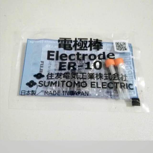 1pair ER-10 Electrodes For Sumitomo Type-39 TYPE-66 TYPE-81C T-600C Fiber Optic Fusion Splicer Electrode