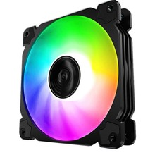 Jonsbo Fr-502 Kipas Case PC CPU Fan Cooler 12Cm RGB Aura LED Komputer Cooling Fan 12V Bisu PC case Fan untuk Komputer(China)
