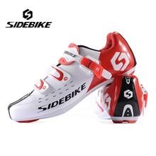 2017 New Males Athletic biking bike sneakers highway  bicycle sport sneakers sidebike SD 001 sneakers Autolock sapato ciclismo sidebike