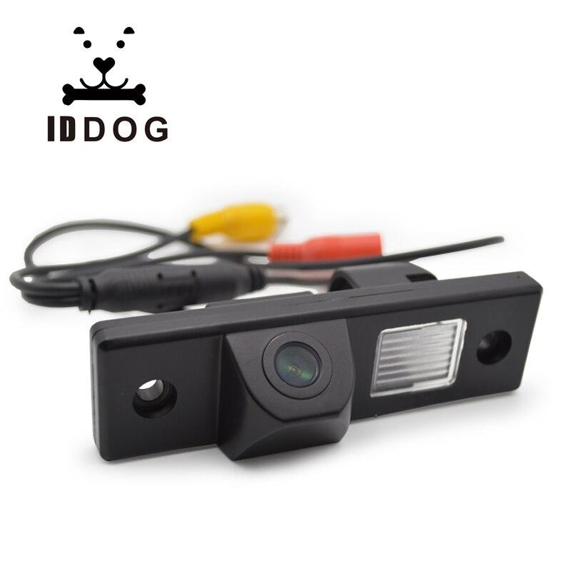 Iddog câmera de visão traseira do carro reverso backup retrovisor estacionamento para chevrolet epica/lova/aveo/captiva/cruze/lacetti