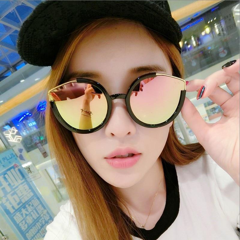 2018 winszenith new fashion sunglasses 978 lady Cat Eye Sunglasses ocean all match frame