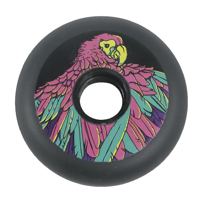 Wear Resistant PU On-line Roller Skate Slalom-skaing Wheels PC Hub 72mm 76mm 80mm 83A Freestyle