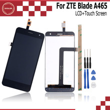 ocolor For ZTE Blade A465 LCD Display And Touch Screen 5.0 Inch Mobile Phone Accessories For ZTE Blade A465 +Tools And Adhesive