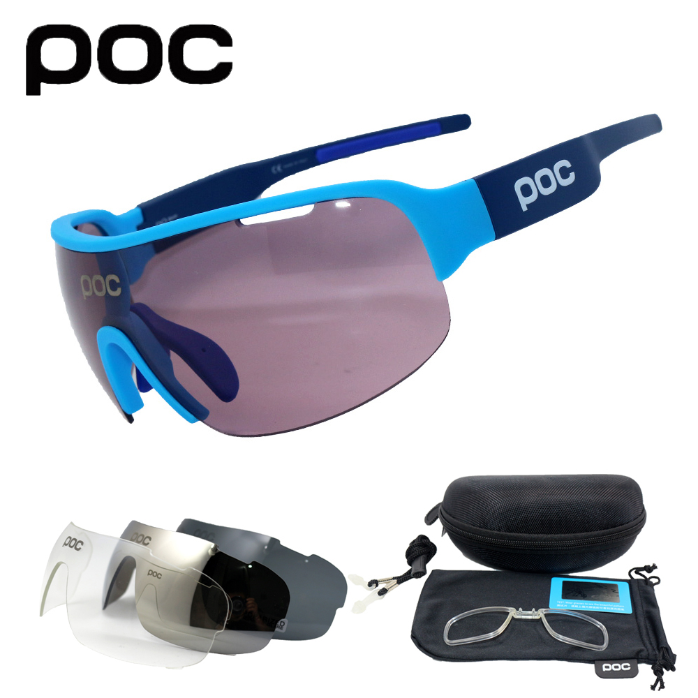 New 4 lens Polarized Outdoor Cycling Glasses Bike Bicycle Goggles Sport Cycling Sunglasses Men Cycling Eyewear