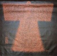 Ręcznie Malowane Olej Na Płótnie Malarstwo Palette Nóż Netto Kształt Chiński Starożytny Ubrania Obraz Olejny Obraz Sztuki na Ścianie Salonu