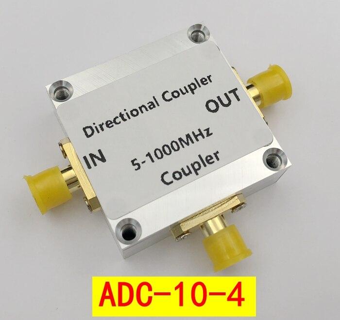 5 a 1000 mhz 10dB Wideband acoplador Direcional ADC-10-4 Mini-circuitos RF CNC PARA Amplificador de rádio AMADOR