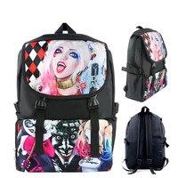 Suicide Squad Zelda Love Live Anime Cartoon Shoulder Students School Bag 1213 Kids Backpack Travel Bag