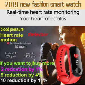 Image 5 - 2020 Digital watch new Men or Women smart wrist watches Blood Pressure Sleep heart rate monitor smart band bracelet waterproof